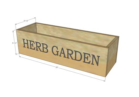 Ana White Herb Garden Planter 2 Diy Projects Herb Planter Box Plans
