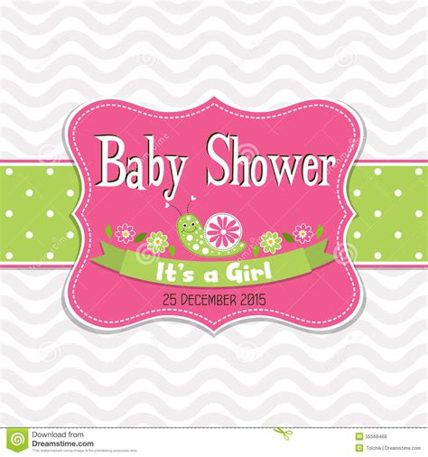 baby shower greeting card template template greeting card baby shower vector vector