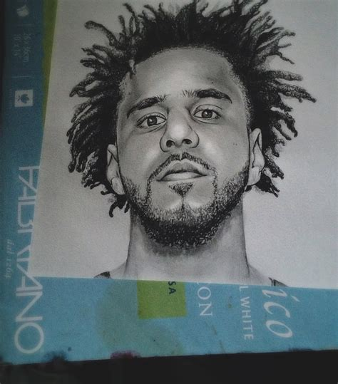 Drawing J Cole by J Cole Drawing Pictures To Pin On Pinsdaddy