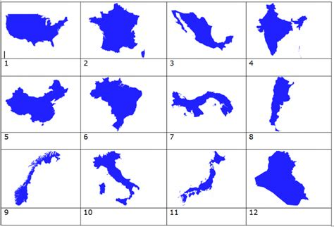 name countries quiz country outlines quiz by mynameisowen13