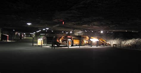 Hutch Salt Mines stratica underground salt museum hutchinson kansas