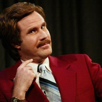 Ron Burgundy Blind Anchorman 2 Quotes Quotesgram