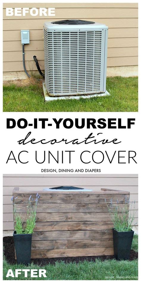 best 25 hide air conditioner ideas on propane