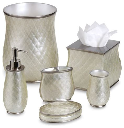Bathroom Ensemble Sets Miller Sparkle Bath Ensemble Traditional Bathroom Accessories By Bed Bath Beyond