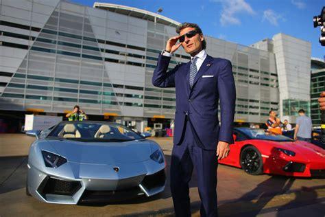 Ceo Of Lamborghini Lamborghini Roadster Debuted On Miami International