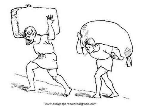 imagenes de hombres trabajando para colorear dibujos esclavos 3