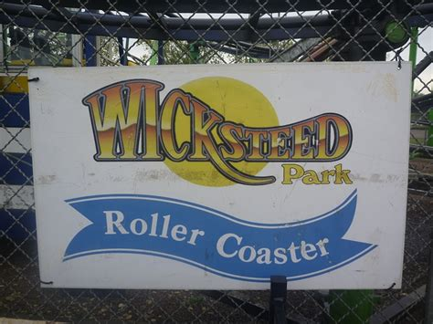 rollercoasters the sign of 0198355351 wicksteed park roller coaster