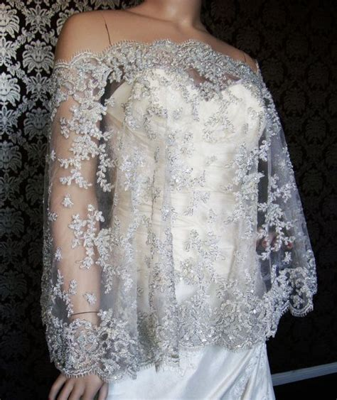 beaded wedding capelet beaded lace brides and modern on