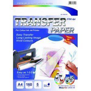 Eprint Paper T Shirt Transfer A4 5 Lembar 150 G Limited jual gadget sablon lebih mudah dan bagus dengan kertas transfer paper blueprint a4
