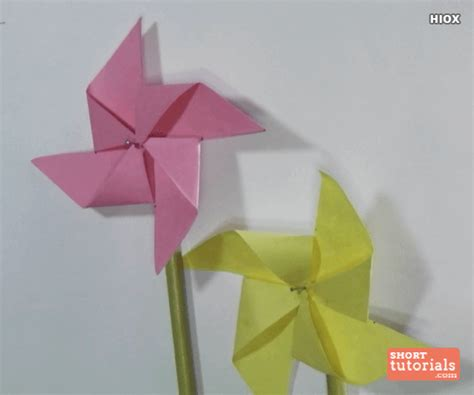 How To Make Paper Windmill For - paper windmill images search