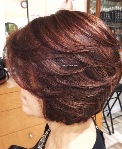 layered bob hairstyles for 50s the 25 best ideas about layered bob hairstyles on