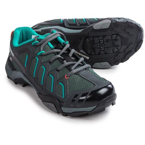 womens spd bike shoes shimano wm34 mountain touring cycling shoes for