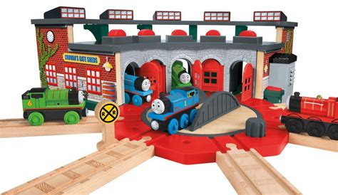 Tidmouth Sheds Roundhouse by Fisher Price The Wooden Railway