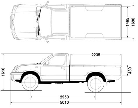s10 bed size car blueprints nissan frontier long bad 4x2 blueprints