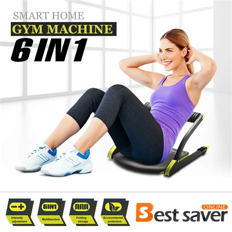 genki ab machine total fitness exercise workout fitness