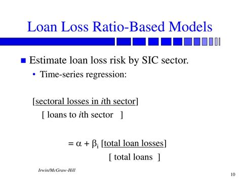 Formula Credit Loss Ratio Ppt Credit Risk Loan Portfolio And Concentration Risk Chapter 12 Powerpoint Presentation