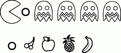 pacman coloring pages to print az coloring pages