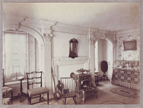 historic home interiors photos the royall house and slave quarters