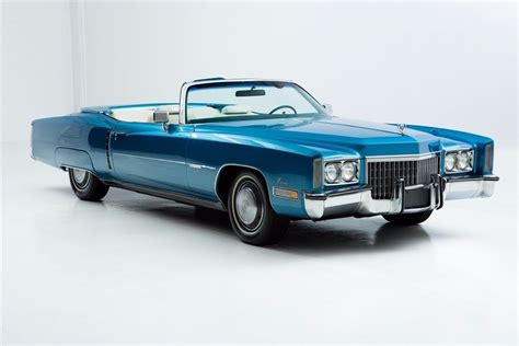 Upholstery Paint For Carpet 1972 Cadillac Eldorado Convertible For Sale