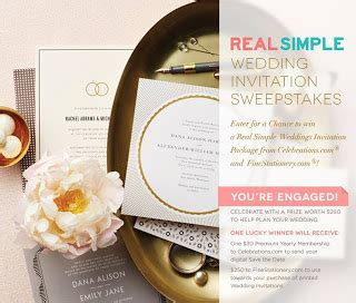 Real Simple Sweepstakes - the finer things networkedblogs by ninua