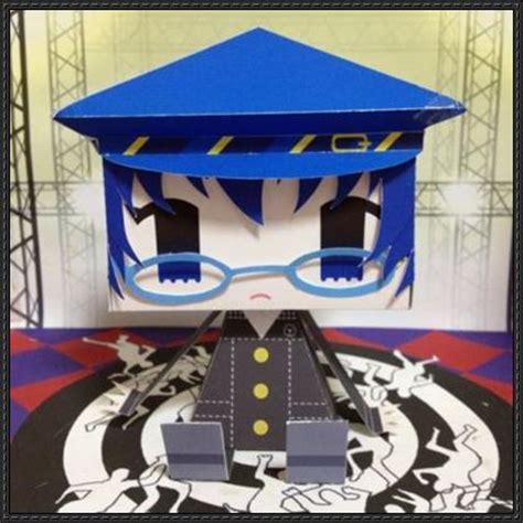 Persona Papercraft - shin megami tensei persona 4 naoto shirogane graphig