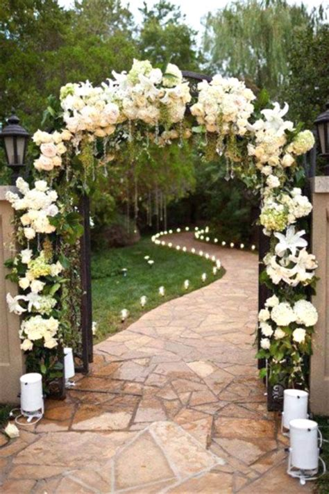 Garden Entrance Ideas 43 Best Outdoor Wedding Entrance Ideas Pink Lover