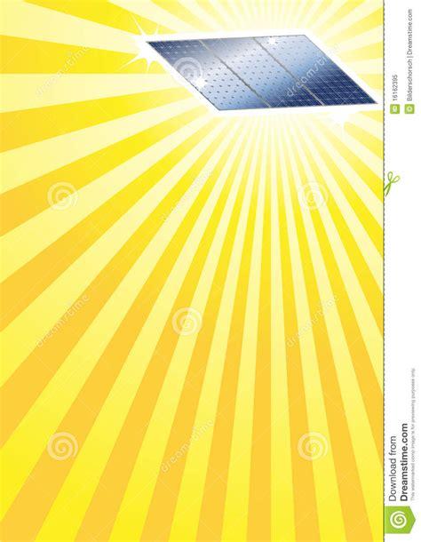 sun rays template sun and solar panel template royalty free stock photo