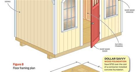 shed plans storage shed plans the family handyman how to build a cheap storage shed the family handyman