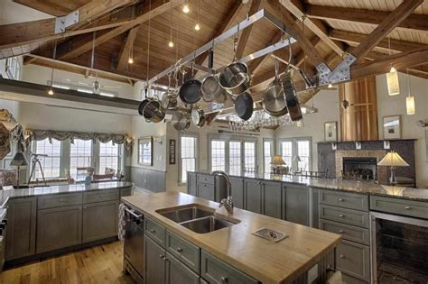 country kitchen nj country kitchen with wainscoting kitchen island in