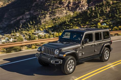 2019 Jeep Jl by 2019 Jeep Wrangler Jl Prices Announced Testdriven