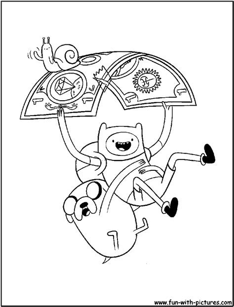 adventuretime coloring page