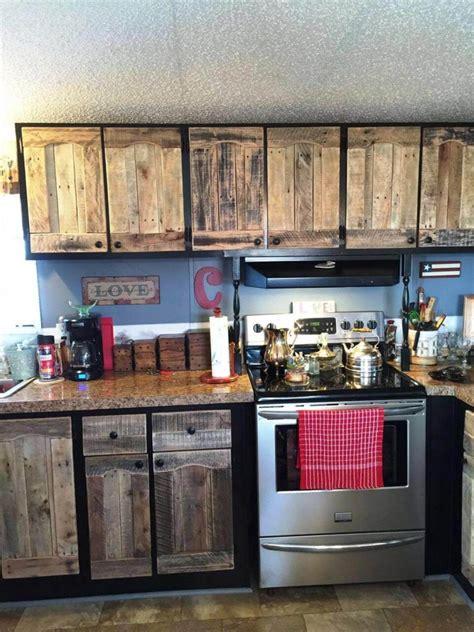 Kitchen Wooden Spice Rack Shelf Dismantle Pallets With Sawzall