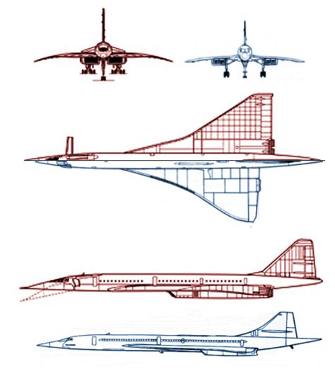 bureau v騁駻inaire concorde tu 144 charger supersonic transport