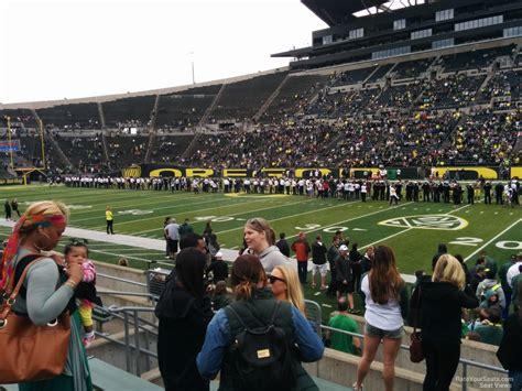 autzen stadium student section autzen stadium section 7 rateyourseats com