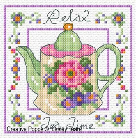 Decorative Stitch Lesley Teare Th 233 I 232 Res Grille Broderie Point De Croix