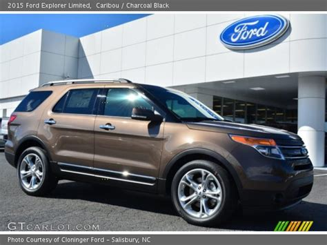 2015 ford explorer colors caribou 2015 ford explorer limited charcoal black
