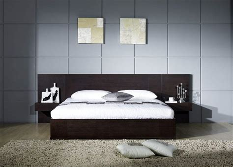 platform bed with built in nightstands platform bed with attached side tables platform bed super