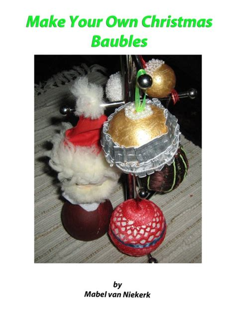 bol com make your own christmas baubles ebook adobe