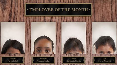 employee of the month poster template employee of the month save the children india ads of