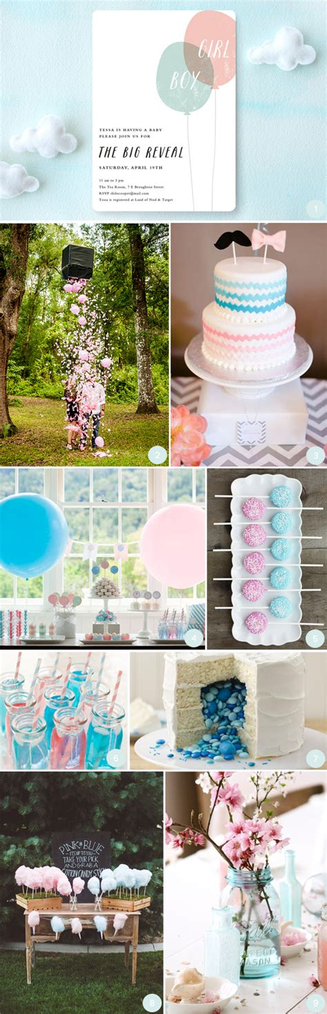 Baby Shower Gender Reveal Ideas by Gender Reveal Baby Shower Ideas Julep