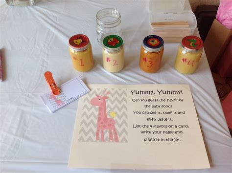 Baby Shower With Baby Food by Baby Food Tasting Baby Shower Event Ideas