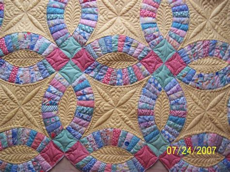 Quilting Designs For Wedding Ring by 17 Best Images About Wedding Ring Quilting Ideas On