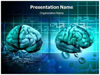 free brain powerpoint templates 34 best brain powerpoint templates human brain