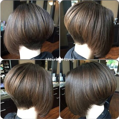 back side bob cut back of stacked bob haircuts impression hair style