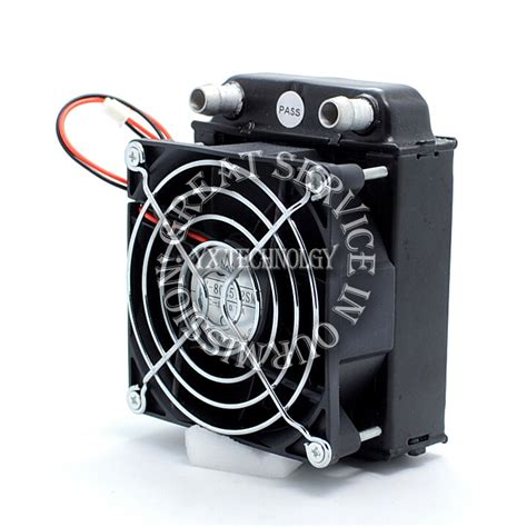 shop fans water cooled 80 radiator computer cpu water cooled radiator fan