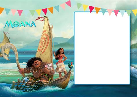printable moana st invitation template bagvania