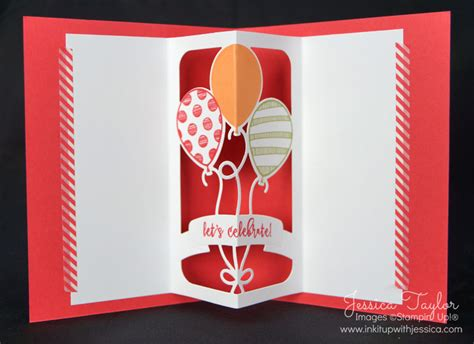 balloon pop up card template balloon adventures pop up cards ink it up with