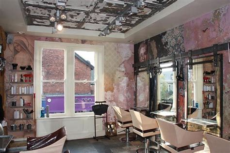 shabby chic salon furniture wow the walls are stunning boilerhouse jesmond hair