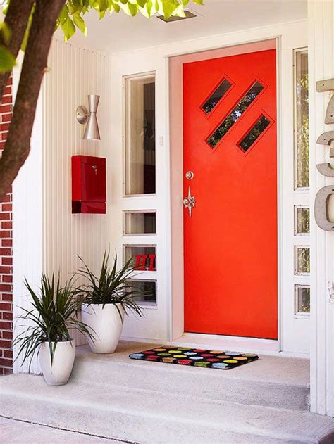 colorful front doors   homes gardens modern