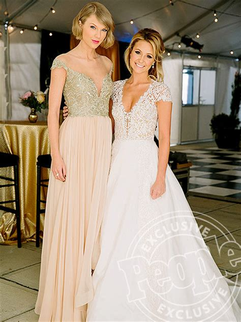 taylor swift white dress at wedding taylor swift attends best friend s wedding people